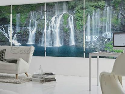 Impresi n digital en estores enrollables cortinas y - Estores personalizados con fotos ...